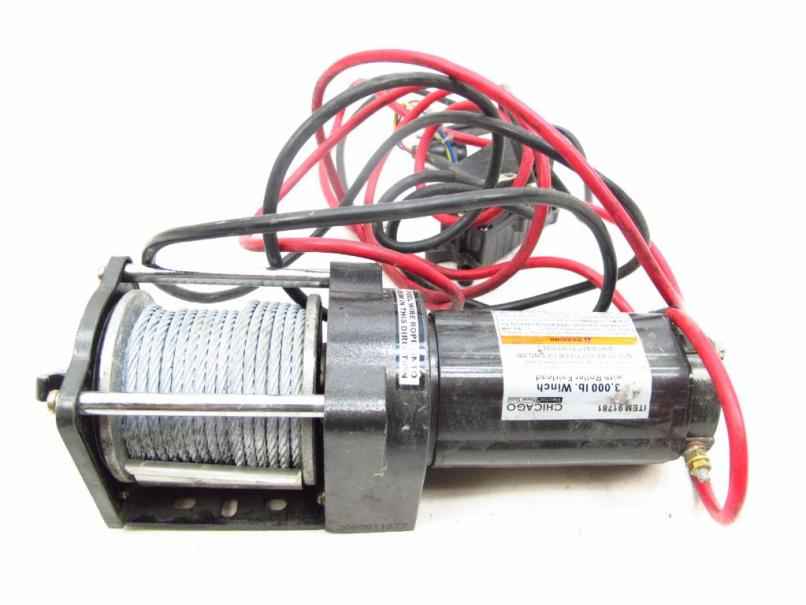 Chicago Electric Power Tools Winch
