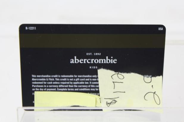 abercrombie kids credit card abercrombie kids credit card | Giftsite.co