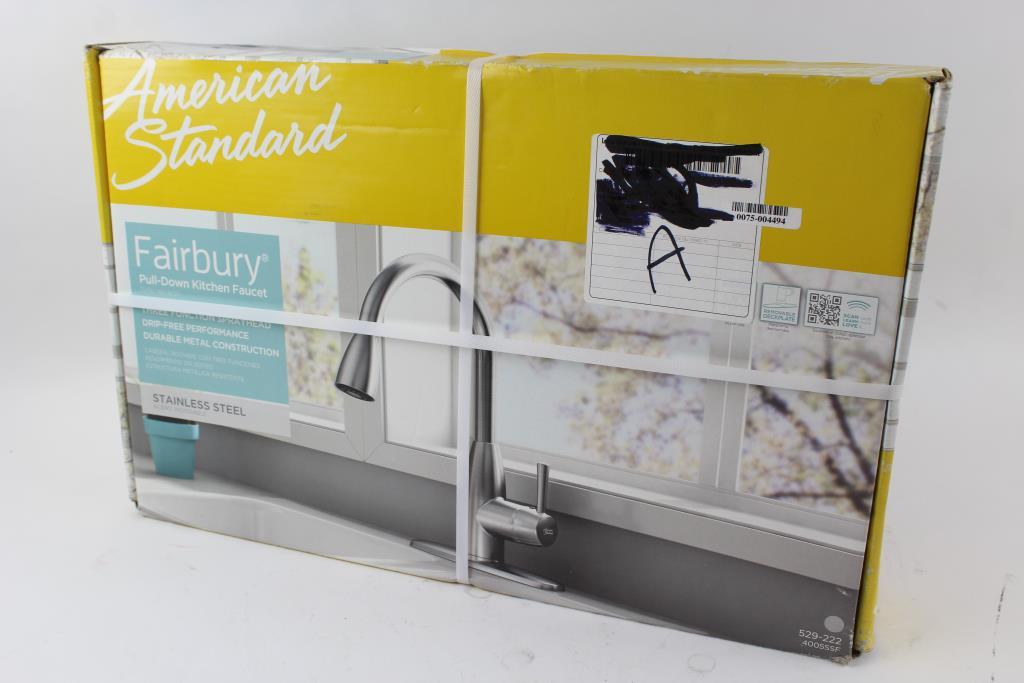standard fairbury kitchen faucet