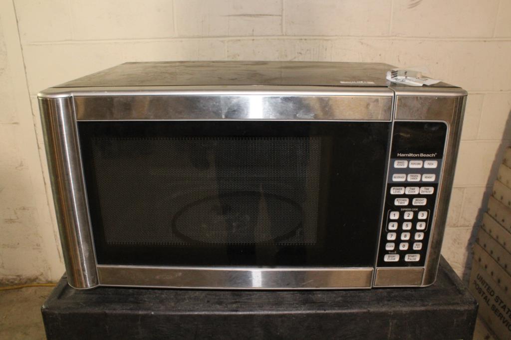 hamilton beach microwave property room