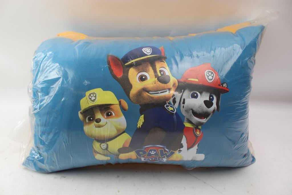paw patrol pillow set property room