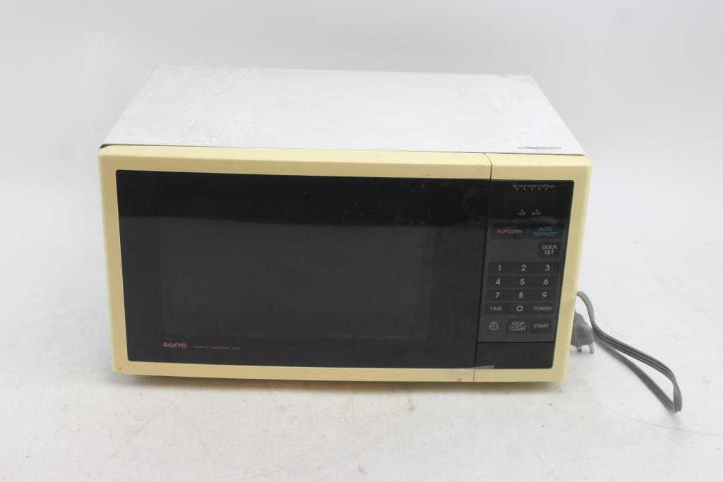 sanyo compact microwave oven em 605t