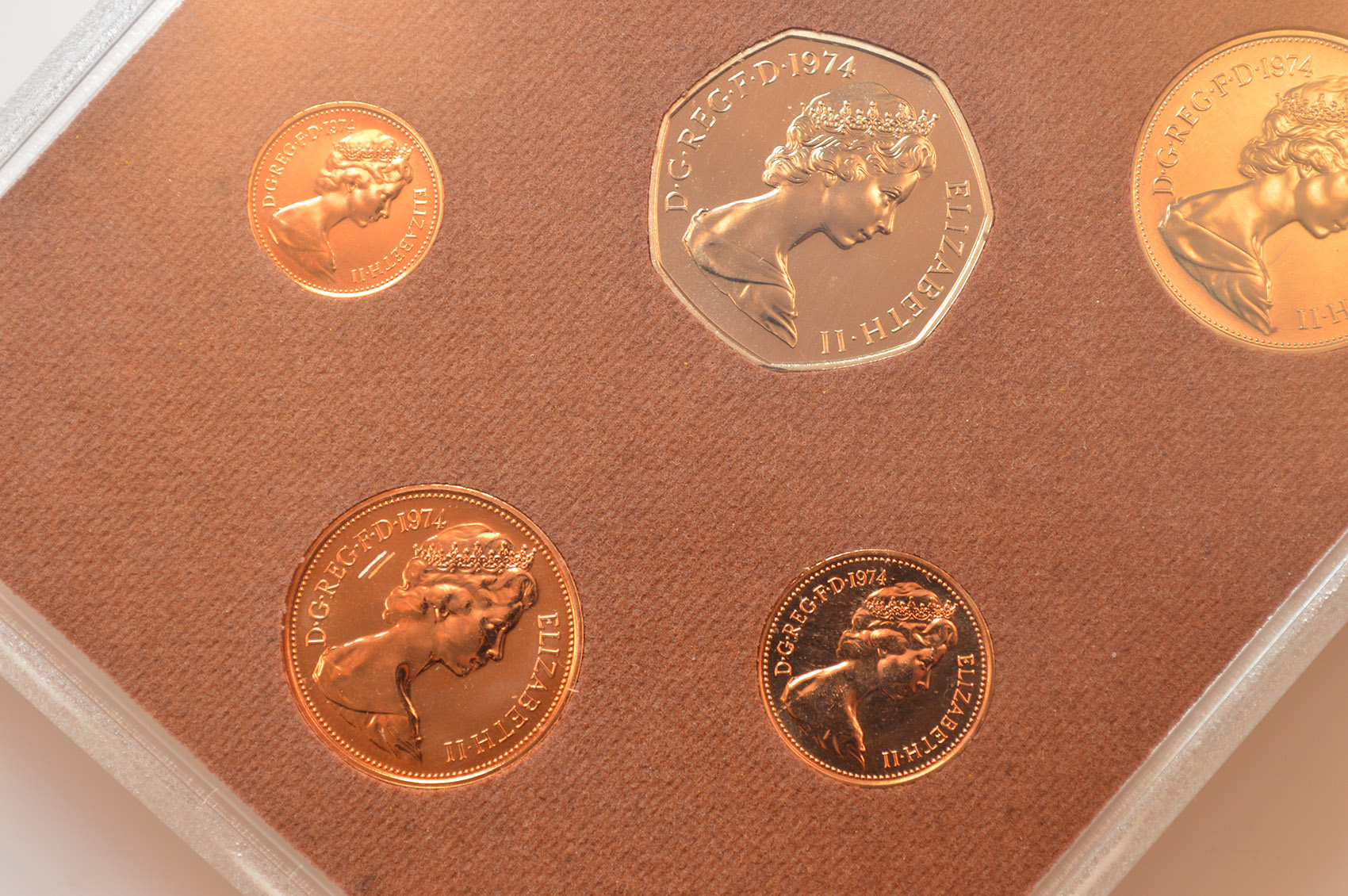 1974 The Coinage Of Great Britain And Northern Ireland 6