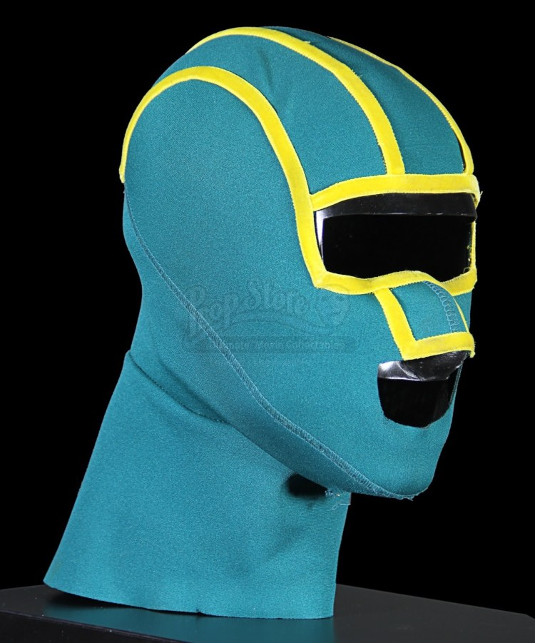 KICK-ASS (2010) - Kick-Ass' (Aaron Taylor-Johnson) Mask ...