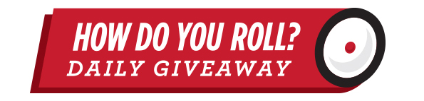 Radio Flyer - Hoe Do You Roll Daily Giveaways