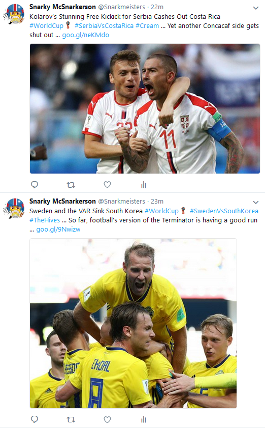 Daily Player World Cup twitter stack 1