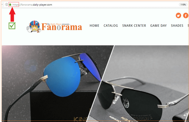 Fanorama https and lock