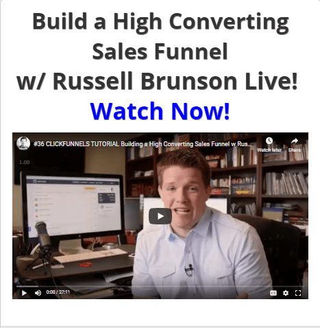 Build A High Converting Sales Funnel with Russell Brunson