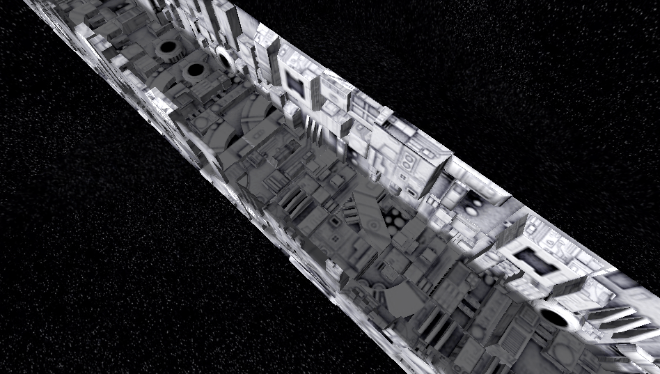 iPhone Trench Run - low poly trench model