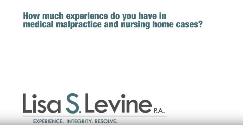 How much experience do you have in medical malpractice and nursing home cases?