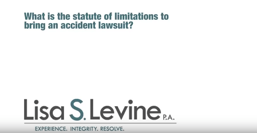 What is the statute of limitations to bring an accident lawsuit?
