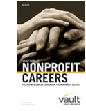 vault career guide to nonprofit careers cover