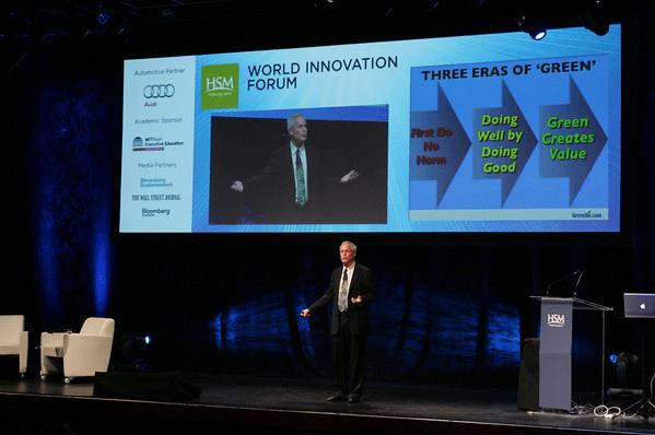 Joel Makower at the 2010 World Innovation Forum