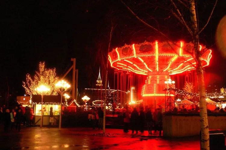 mercado de navidad en Gotemburgo