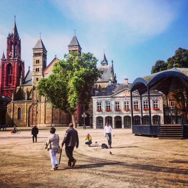 Sint Janskerk en Sint Servaaskerk, Vrijthof, Maastricht