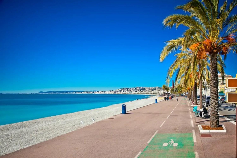Promenade des anglais à Nice