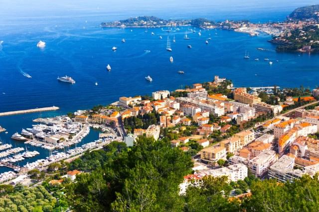 The chic resort of Nice