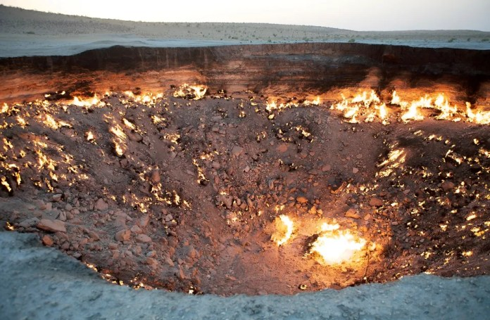 The Door to Hell, Turkmenistan
