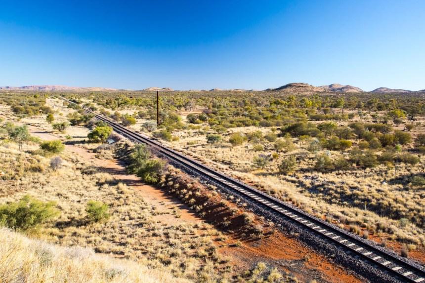 lungo il percorso del ghan railway
