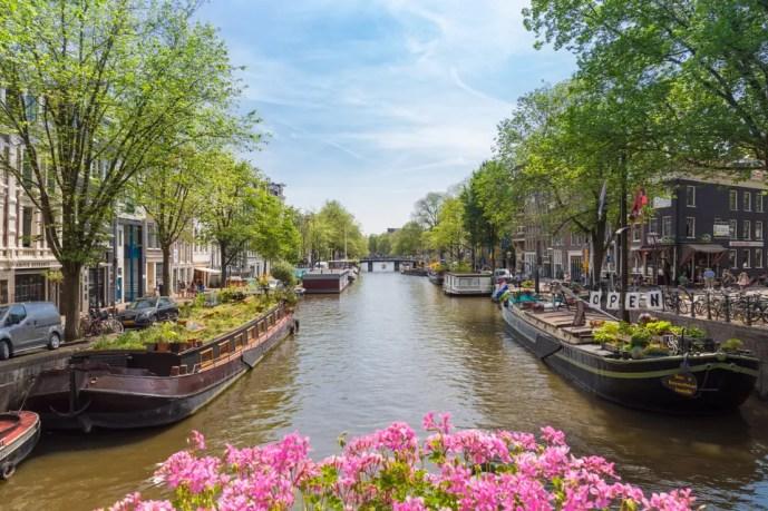 Hop-on hop-off tours in Amsterdam, Netherlands