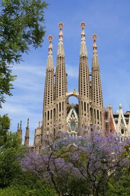 Hop-on hop-off tours in Barcelona, Spain