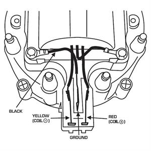chevy 350 wiring diagram to distributor - Wiring Diagram