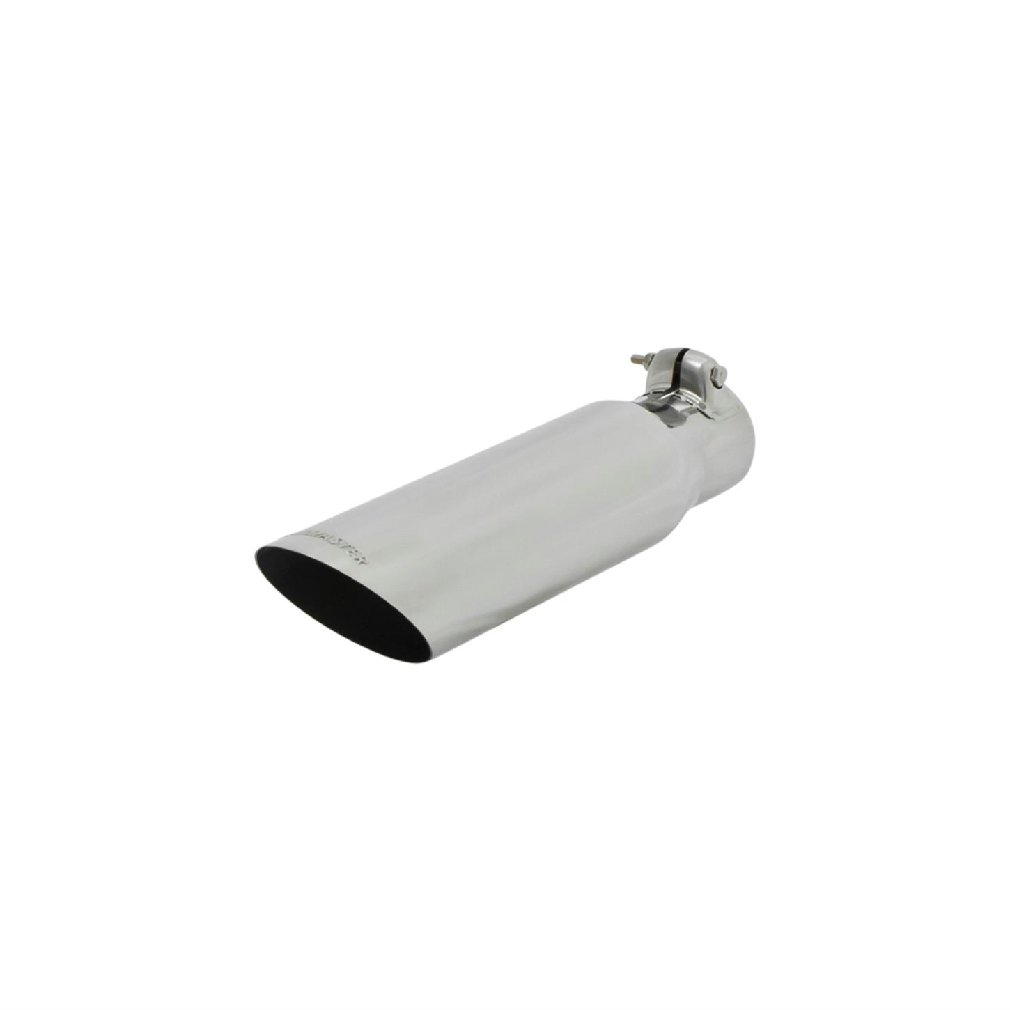 flowmaster 15373 exhaust tip 2 25 in inlet i d 13 in length
