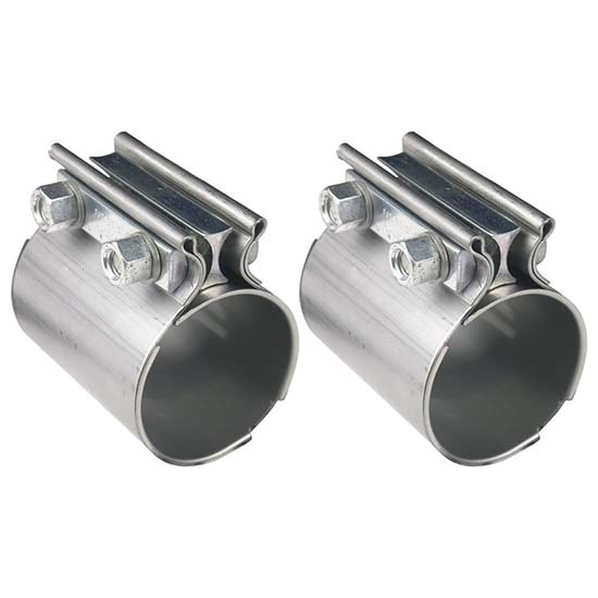 hooker 41173hkr stainless steel torca style exhaust coupler 3 inch