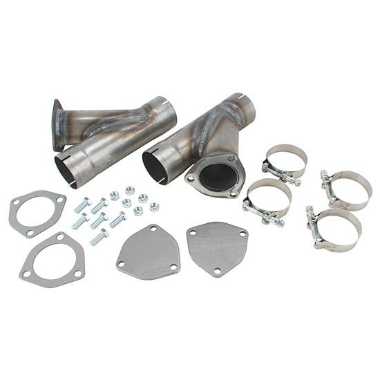 dougs headers h1134 exhaust cut out hook up kit 3 1 2 inch