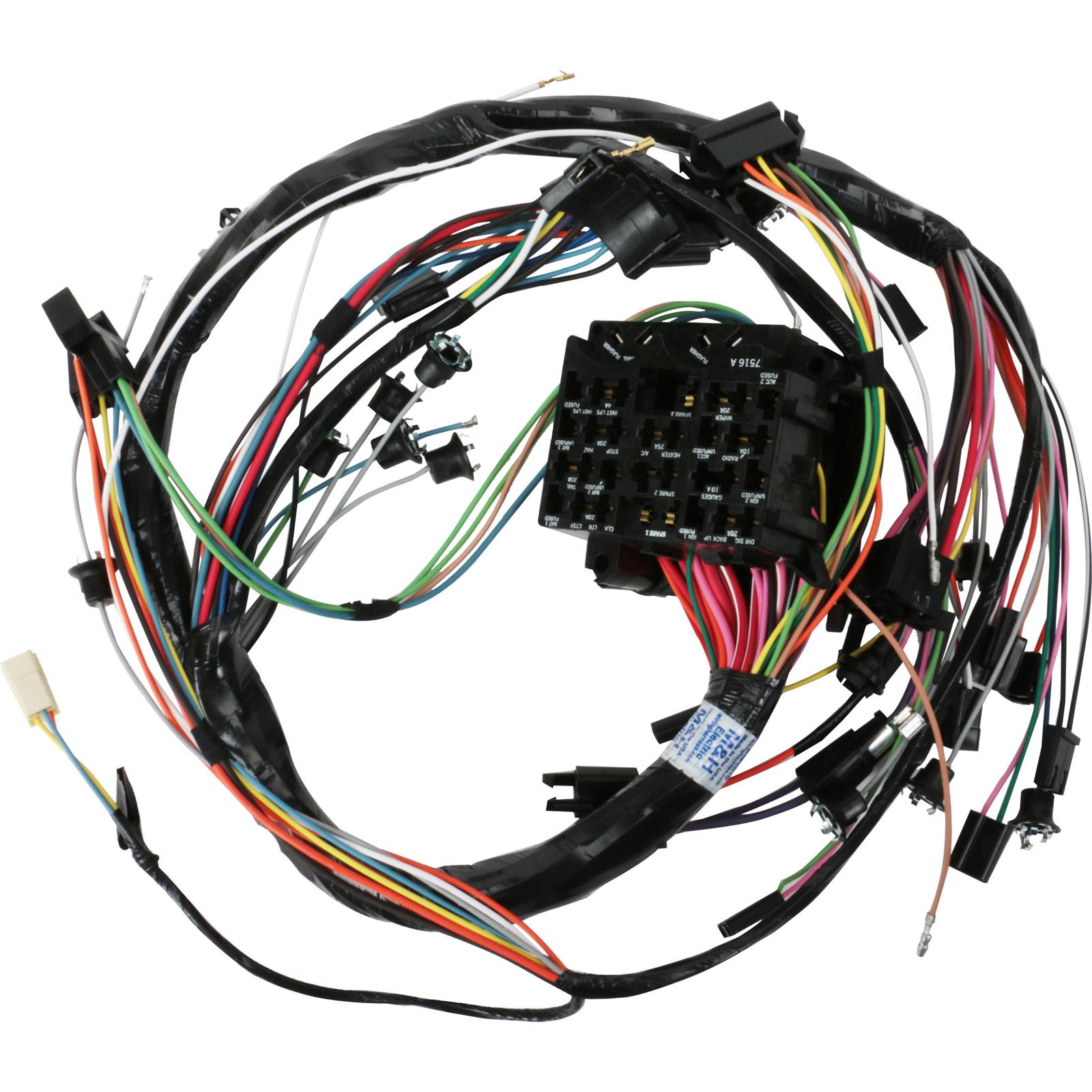 M h electric 39045 dash wiring harness 1968 gm a body w gauges
