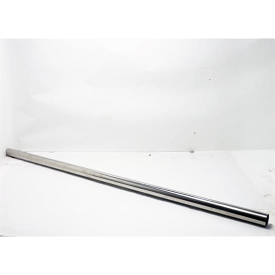 polished stainless steel exhaust tubing