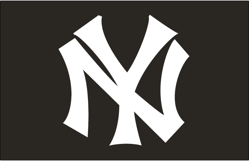New York Yankees Cap Logo American League Al Chris Creamer S Sports Logos Page Sportslogos Net