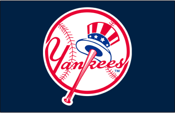 New York Yankees Primary Dark Logo - American League (AL) - Chris ...