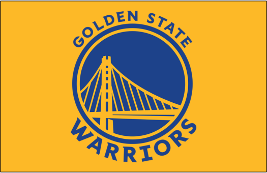 Golden State Warriors Primary Dark Logo - National ...