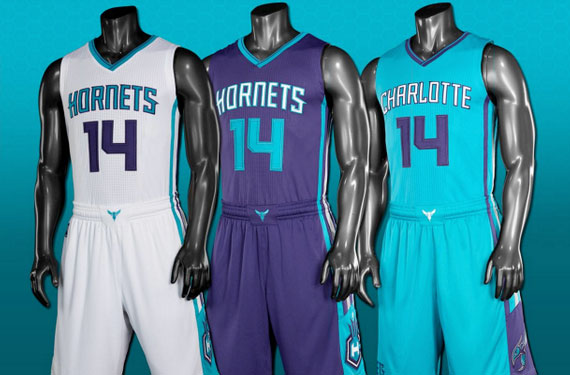 Image result for charlotte hornets uniforms