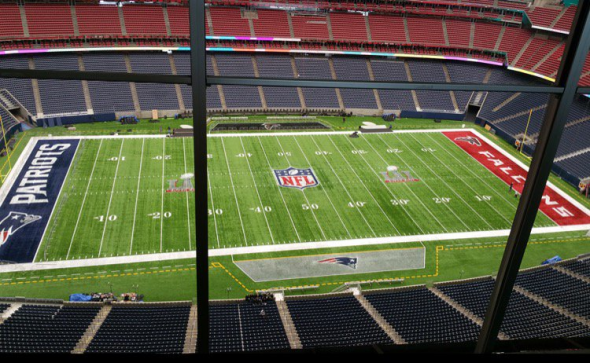 Image result for Super Bowl LI field