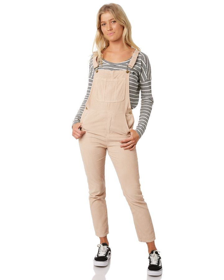 524629a571c Thrills Louise Cord Overalls Rose Smoke Rose Smoke Playsuit Size 12 ...