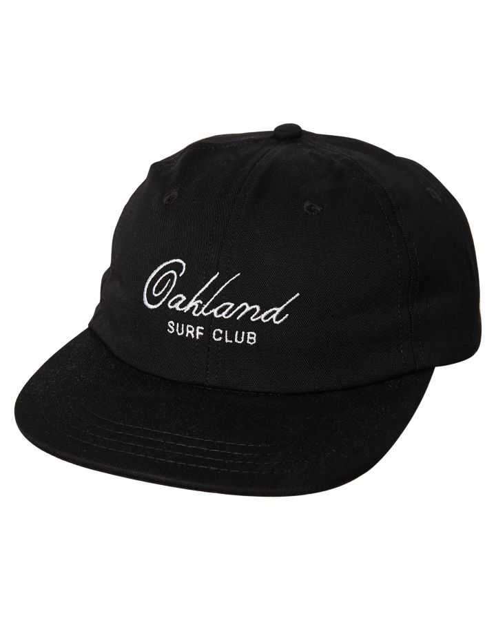 Oakland Surf Club Weber Cap Black Mens Accessories Other Size ... 2469ea2002e5