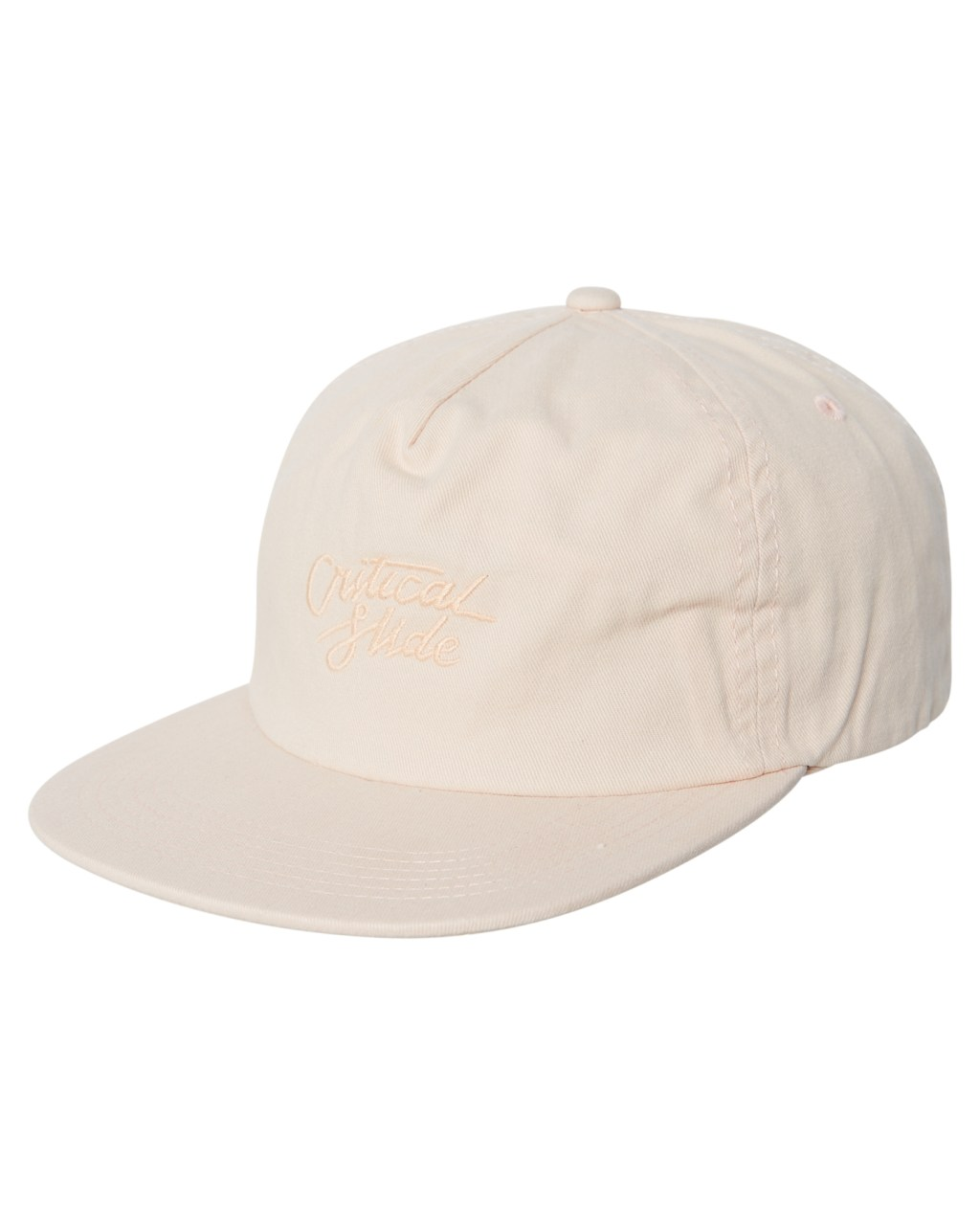 86fd95e38c8 The Critical Slide Society Hand Jive Mens Cap Rose Latte