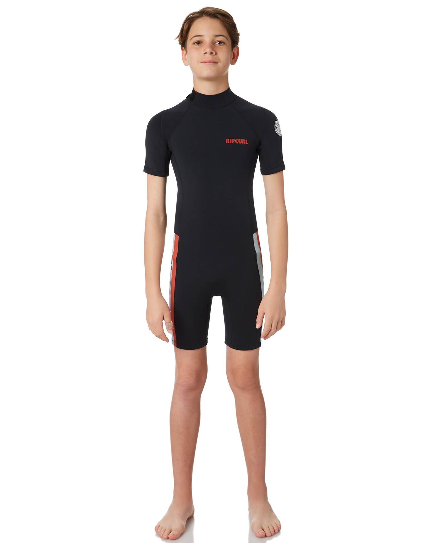 c9775ba6db Rip Curl Boys Aggrolite 1X5Mm Springsuit Red Surfing Wetsuits Size ...