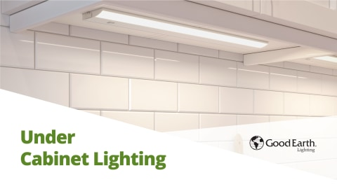good earth lighting premium slim led color changing 24 in hardwired light bar under cabinet lights