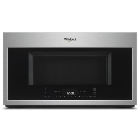 whirlpool 1 9 cu ft over the range microwave with scan to cook technology