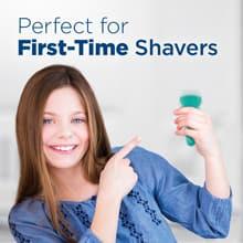 Perfeito para máquinas de barbear pela primeira vez