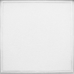 armstrong ceilings 24 in x 24 in raised panel homestyle 6 pack white patterned 15 16 in drop acoustic panel ceiling tiles
