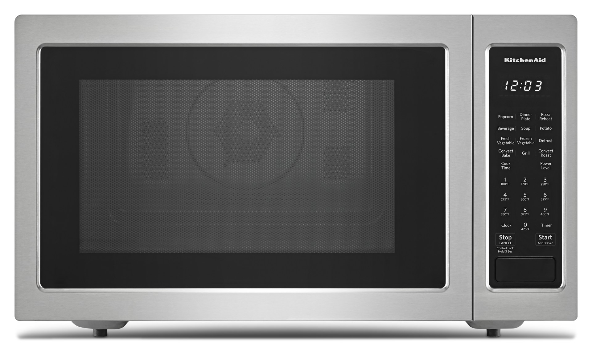 kmcc5015gss kitchenaid 22 1 5 cu ft countertop convection microwave oven with printshield finish and roast function stainless steel