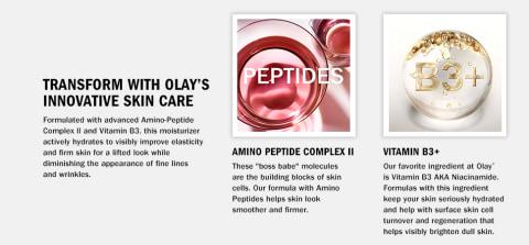 transform with olays innovative skin care