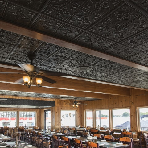 genesis 24 in x 24 in icon relief white textured 15 16 in drop ceiling tiles