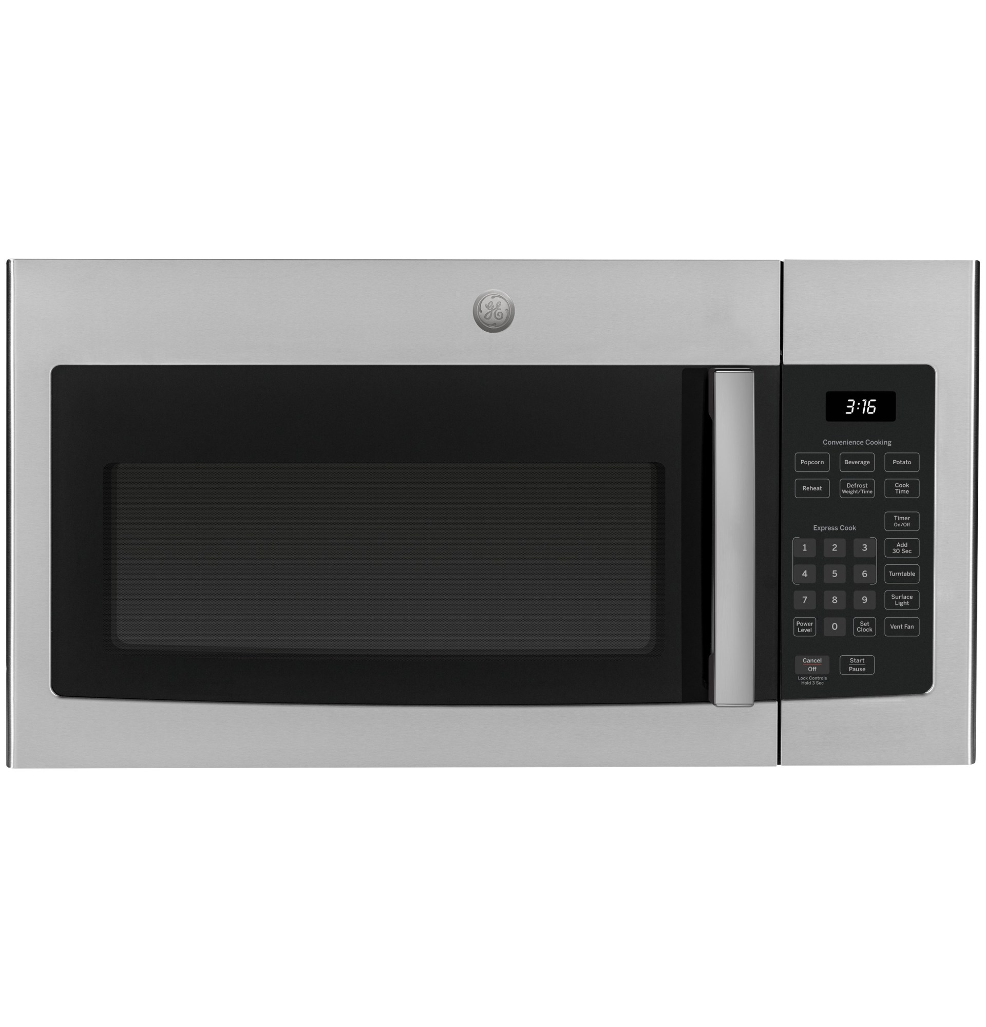 https www costco com ge 1 6 cu ft over the range microwave oven with cooktop lighting and 300 cfm exhaust fan product 100681438 html