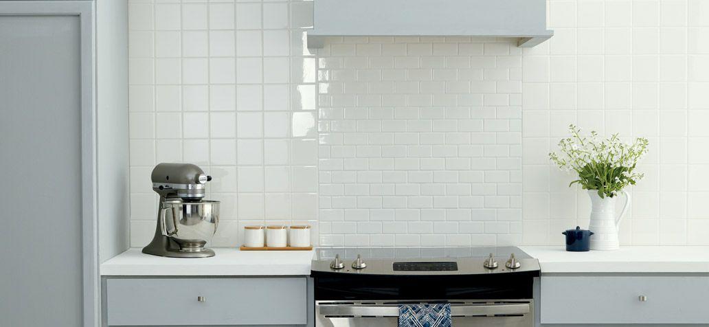 american olean starting line white gloss 4 in x 4 in glazed ceramic wall tile