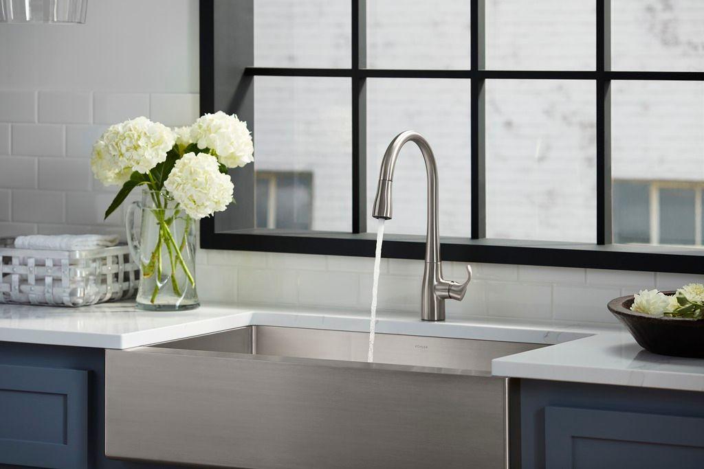 kohler simplice pulldown kitchen faucet